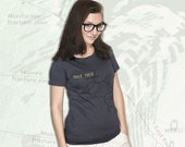 Plate Tectonics T-Shirt - Grey