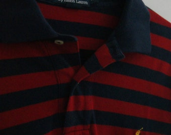 Vintage Ralph Lauren Striped Polo XL