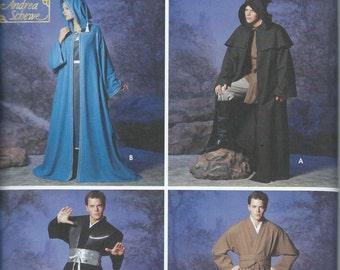 UNCUT Simplicity 5840 Robe and Tunic Pattern Sizes XS-XL