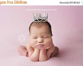 Crown Little Princess Newborn Crown From The Sweet Baby Royalty Newborn Crown Collection Stunning Unique Newborn Photo Prop