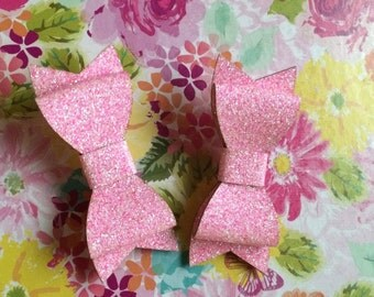 Baby Powder Pink Hair Clip Set