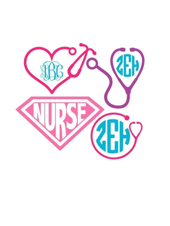 Nurse Svg Nurse Svg Files Stethoscope Svg Nurse