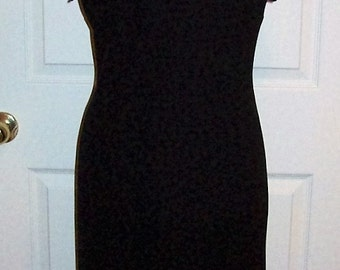 Vintage Ladies Little Black Dress by S L Fashions Size 10 Only 12 USD