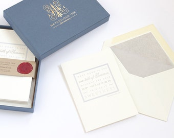 Warmth Of Summer Letterpress Christmas Card