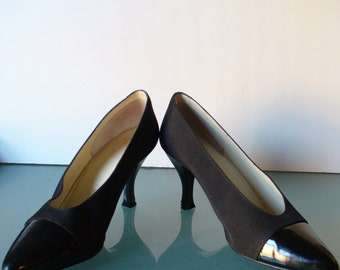 Vintage Chandlers French Room Pumps Size 7 5aa By