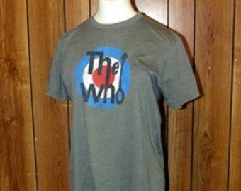 THE WHO T Shirt in Grey