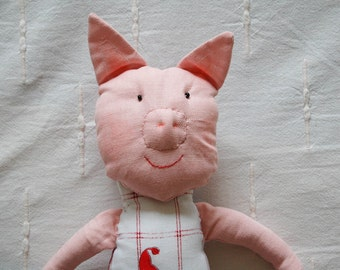 Stuffed animals. Pig Toy. Stuffed animal toy. Soft toy. Pig. Little Piggy