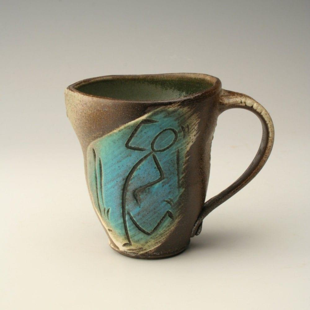 Unique Coffee Mug Handmade Ceramic Mug Earthy Coffee Mug