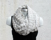 Fur cowl, FAUX FUR, Circle scarf, hoodie, Cozy, chunky, Extra wide. Vegan scarf. Gift for her. Cowl scarf.  Mother gift. Wife gift. Womens.