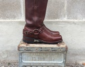 Frye Harness 12R Belted Boots