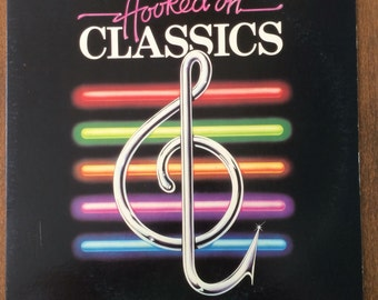 Hooked On Claasics Vintage Album Louis Clark Conducting The Royal Philharmonic Orchestra  RCA Records 1980s Funky Classical Music