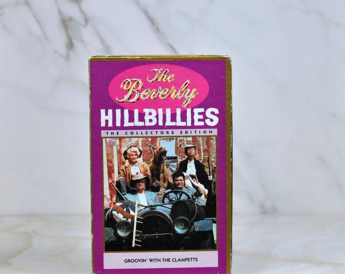 Vintage VHS Tape The Beverly Hillbillies Collector's Edition Groovin With The Clampets 1965 1990 CBS Video - Millionaire - Oil - TV Show