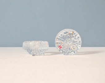 Vintage Pair of iittala Ultima Thule Candle Holders Designed by Tapio Wirkkala
