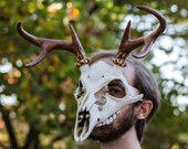 Cervine Skull Mask