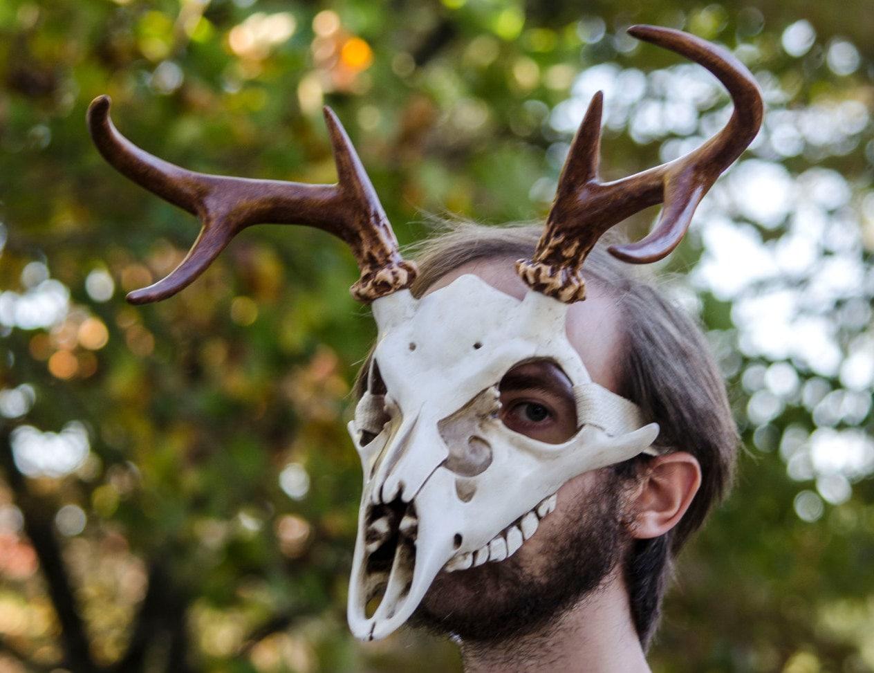 how to make an animal skull mask