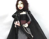 Reserved Listing ******** Cloth Art Doll The Archer