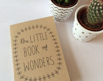 The Little Book of Wonders A6 Plain Notebook