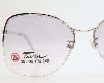 Vintage Tura Rimless Eyeglass Frames