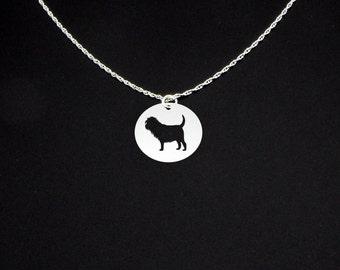Affenpinscher Necklace - Affenpinscher Jewelry - Affenpinscher Gift