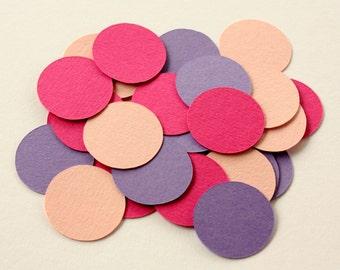 Circle Confetti - Colorful Round Confetti - Bridal Shower Confetti - Small Paper Circles - Birthday Party Confetti - Party Table Confetti