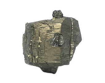 """Pyrrhotite Crystal Specimen with Sphalerite,  """"Magnetic Pyrite"""" and """"Black Jack"""",  Metallic Mineral Specimen mined in Mexico Geology Sample"""