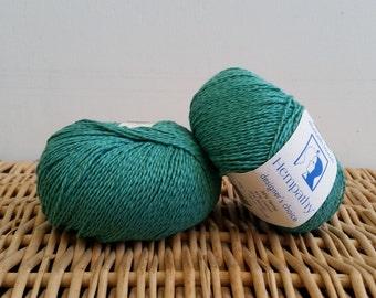 Cotton Yarn, Hemp Yarn, Sport Yarn, Elsebeth Lavold Hempathy, Natural Yarn, Paris Green 55