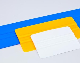 "Professional Vinyl Application Squeegees, Vinyl Applicator, 4"", 6"" and 12"" Vinyl Tool for Small, Medium or Large Decals"