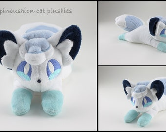 Alola Vulpix beanie style plush - made to order