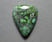 Blue Boy Mine Natural Variscite Cabochon from Nevada, 19.01 ct.