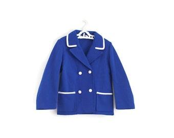 Girls Vintage Jacket, Kids Vintage Blazer, Girls Vintage Coat, Girls Spring Coat, Girls Jacket