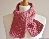 Baby alpaca scarf - Wool anniversary gift for her - Andes alpaca wool - Plektra UK knits