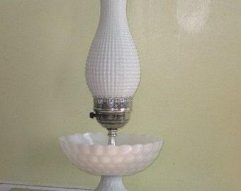 Vintage bubble glass lamp | Etsy