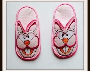 Bunny slippers, Children's Slippers, Kid's Slippers, Bedroom slippers