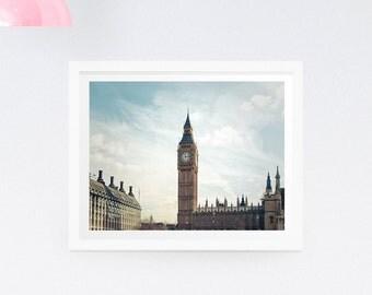 London photography print - London photography canvas - Big Ben