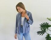 1940s CHORE Jacket / DENIM Shirt / Workwear