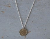 Sixpence Coin Necklace - Vintage 1967 Sixpence Coin Necklace - Convo Us for Specific Years or Different Chain
