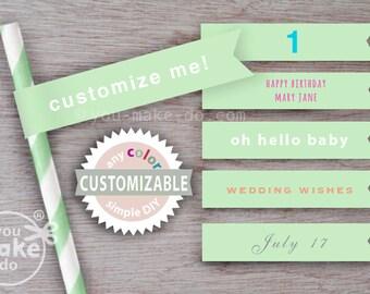 mint green straws flags mint paper straws light green straws light green baby shower decorations mint baby shower boy mint wedding straws