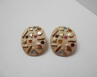 Vintage 1959 Sultana Clip Earrings (7023) Sarah Coventry