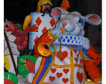 Storybook Rabbit Photograph - Mardi Gras
