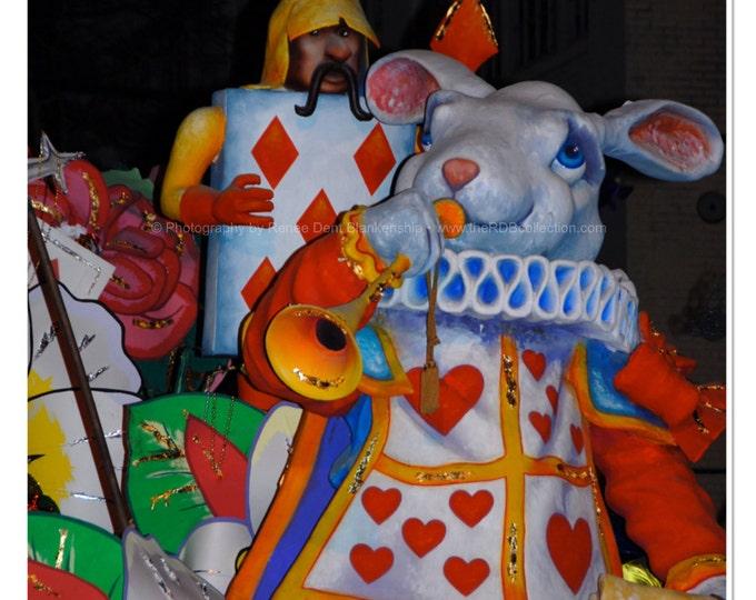 Storybook Rabbit Photograph - Mardi Gras
