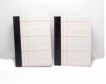 Notebook, Ledger Cover Notebook, Hard Cover Notebook, Mini Notebook, Lined Notebook, Distressed Notebook, mini journal, pocket notebook