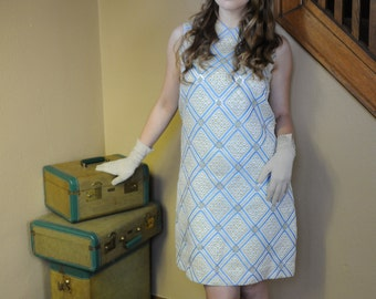 1960's Morton Myles for Malcolm Charles dress- great condition!