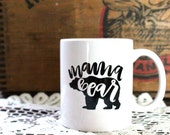 11 oz Mama Bear ceramic mug
