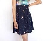 Butterfly Nebula Dress Digital Print Space Geek Chic Cosmically Stylish