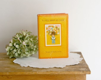Vintage Book, A Little Book of Cheer, Vintage Hallmark Child's Book, 1968, Thoughts to Brighten the Day