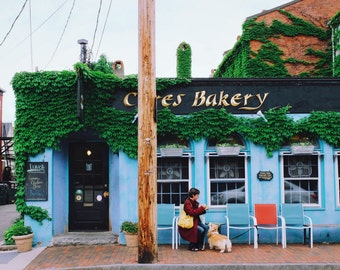 ceres - fine art photography, 4x6 5x7 8x10, new hampshire historic architecture bakery seacoast city