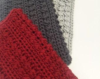 Bobble Stitch Dishcloths