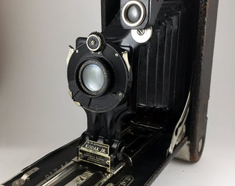 Kodak No. 3A Autographic Kodak Junior antique film camera