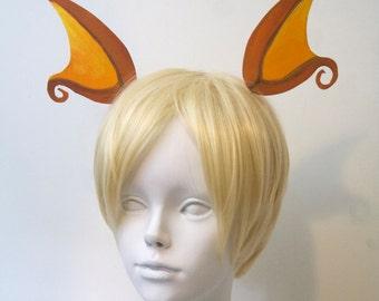 Raichu Ears Headband / Pokemon Cosplay Costume / Gijinka