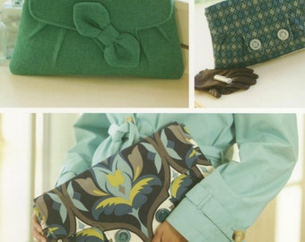 Coronation Clutch Bag Pattern by Indygo Junction (IJ926)